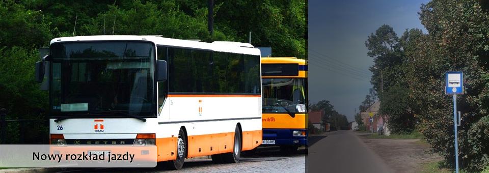 Uwaga! Od 26 sierpnia nowy rozkład jazdy autobusów