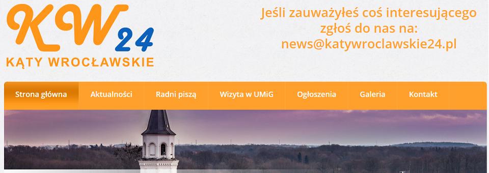 Kąty Wrocławskie24 – rusza nowy portal