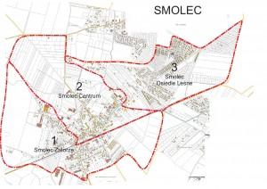 Nr 1 to Sołectwo Smolec-Zatorze, nr 2 to Sołectwo Smolec-Centrum, a nr 3 to Sołectwo Smolec-Osiedle Leśne.