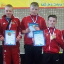 Groźne Tygrysy wyszarpały 5 medali w tym 2 złote!