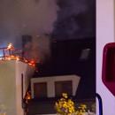 Pożar w domu wielorodzinnym przy ul. Wrzosowej