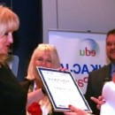 Wyróżnienie dla dyrekcji Przedszkola Językowego Europejska Akademia Dziecka