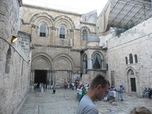Bazylika Grobu Bożego na Golgocie w Jerozolimie. Fot. S. Kotlarz