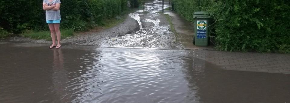 Odwodnienie ulicy Starowiejskiej c.d.