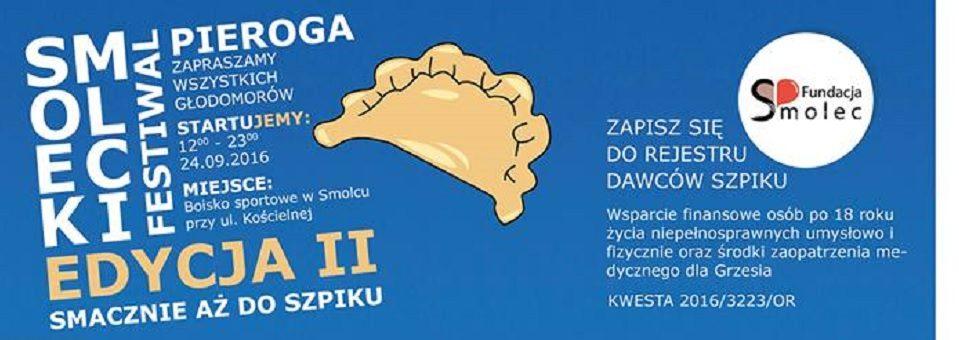 II Smolecki Festiwal Pieroga przeszedł do historii :)