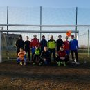 Meczem piłki nożnej przywitali Nowy Rok