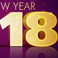 Szczęśliwego Nowego Roku 2018!