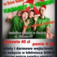 """GOKiS zaprasza 11 marca na Dzień Kobiet z kabaretem """"Z Konopi"""""""