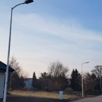 Inwestycje oświetleniowe w Smolcu w 2018 r.