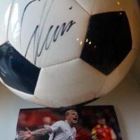 Zdobądź piłkę i zdjęcie z autografem Kamila Grosickiego! Zrzutka dla Ali!