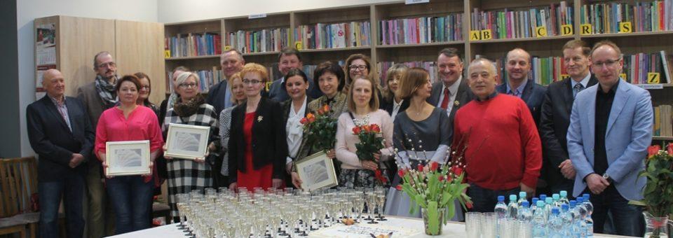 Oficjalne otwarcie Biblioteki Gminnego Ośrodka Kultury Filia Smolec