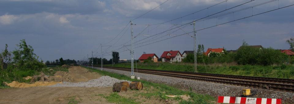 Przystanek kolejowy w Mokronosie Górnym