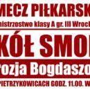 Sokół Smolec kontra Ambrozja Bogdaszowice już w najbliższą niedzielę