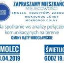 Spotkanie w sprawie transportu publicznego! 23 kwietnia godz. 19:00
