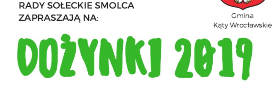 Smoleckie dożynki na Podzamczu w sobotę 7 września