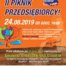 II Piknik Przedsiębiorcy 24 sierpnia od godz. 16:00 nad smoleckim stawem przy ul. Ogrodowej