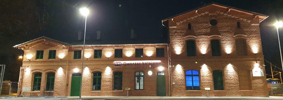 Dworzec w Smolcu otwarty po renowacji!