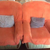Rozkładana sofa + fotele