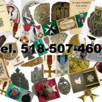 KUPIE stare ordery,medale,odznaki,odznaczenia,orzełki